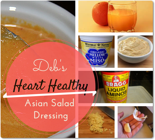 Deb's Heart Healthy Asian Salad Dressing
