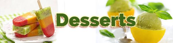 Desserts Page